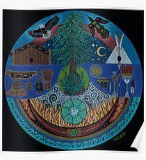 Ancient Spiritual Trade Routes  Poster