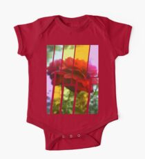 Red Rose with Light 1 Tinted 2 Kids Clothes