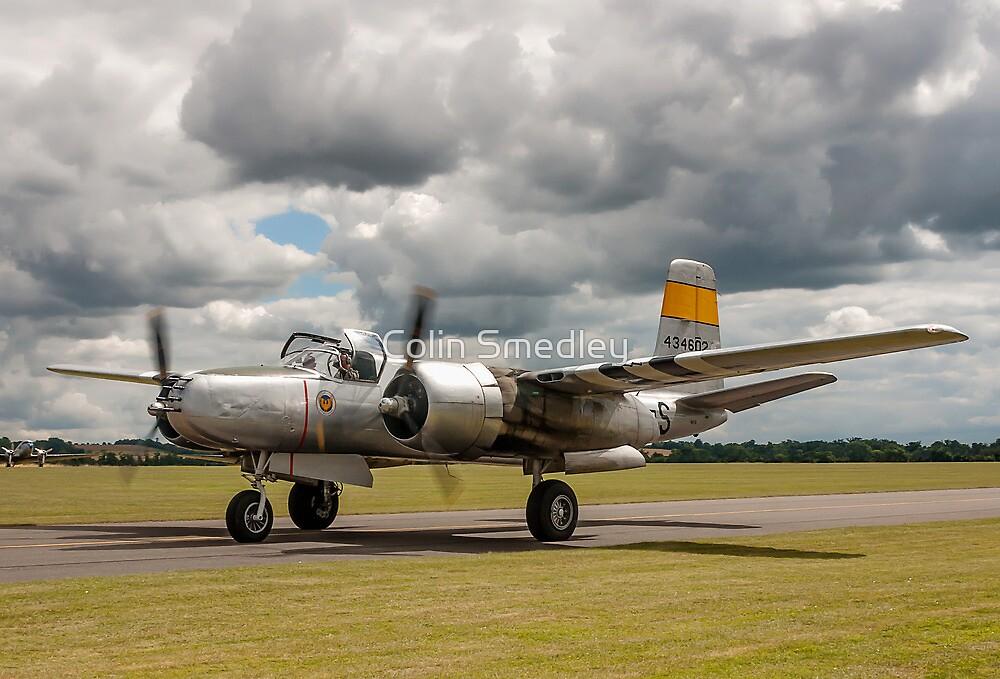 Douglas A-26B Invader 44-34602/S N167B by Colin Smedley