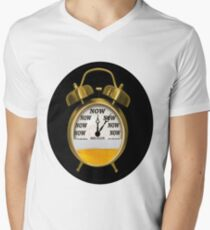 ☝ ☞ ITS NOW -TIME FOR A BEER- WITH- BEER OCLOCK TEE SHIRT ☝ ☞  Men's V-Neck T-Shirt