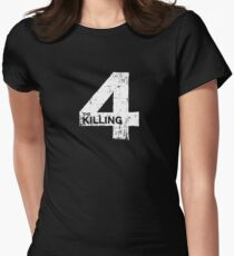 The Killing 4 Womens Fitted T-Shirt