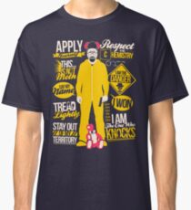 The One Who Knocks Classic T-Shirt
