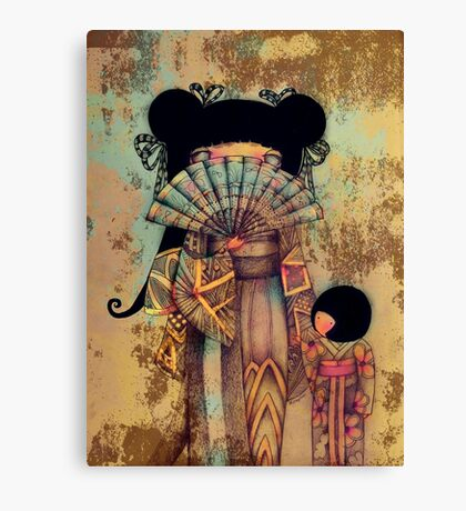 mai and suki Canvas Print
