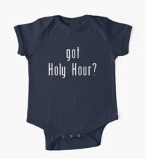 got Holy Hour? Kids Clothes