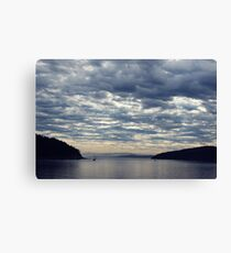 Heavy Clouds Canvas Print
