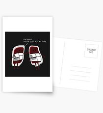 BLOOD BAGS TSHIRT Postcards