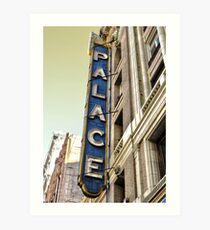 Palace Theater Art Print