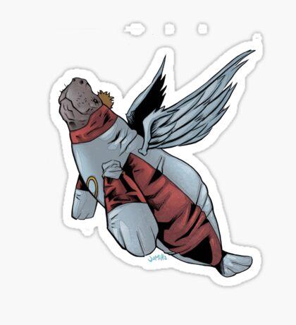 Angel Manatee SALE! Sticker