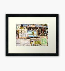 The Bomba Shack Framed Print