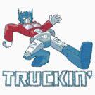 Truckin' by tommullin