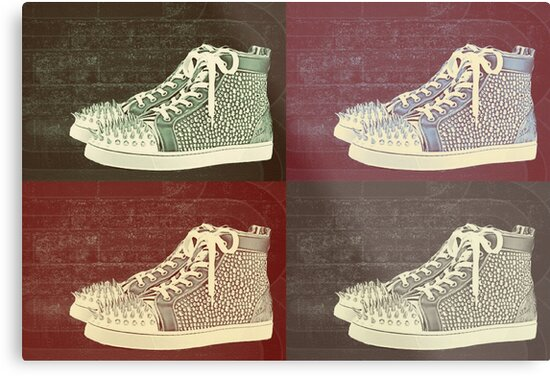 ea6e134490e8 ... where can i buy christian louboutin mens sneakers pop art by arts4u  49781 86250