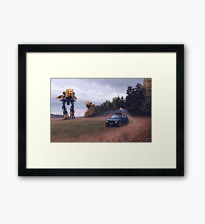 Decoy Framed Print