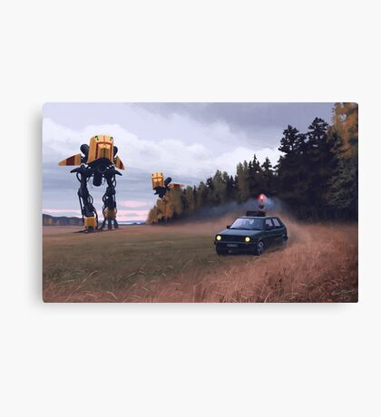 Decoy Canvas Print