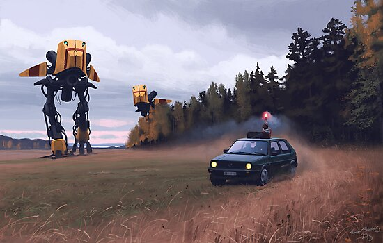 Decoy by Simon Stålenhag