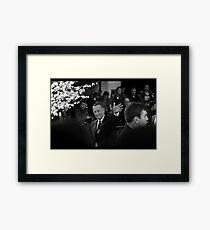 Mr Hanks Framed Print