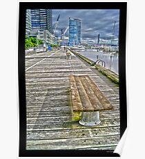 Docklands, Melbourne City Poster