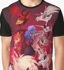 (Original) Hazbin Hotel Cast Graphic T-Shirt