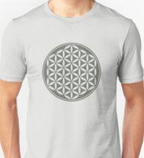 FLOWER OF LIFE - SACRED GEOMETRY - HARMONY & BALANCE Unisex T-Shirt