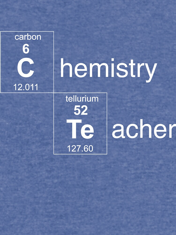 Chemistry Teacher by careers