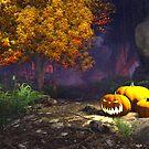 Halloween pumpkins by Marsea