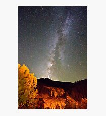 Autumn Milky Way Night Sky  Photographic Print