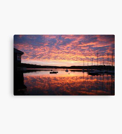 Scilly sunrise Canvas Print