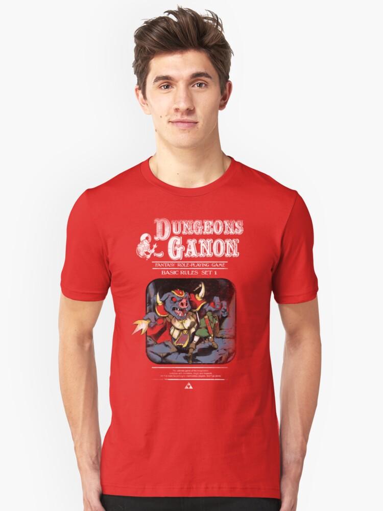 Dungeons & Ganon by TeeKetch