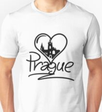 Prague Heart Unisex T-Shirt