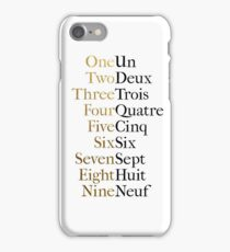 Ten Duel Commandments/Take A Break (Hamilton: An American Musical) iPhone Case/Skin