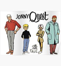 Johnny Quest Poster