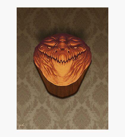 Demon Head 2 Photographic Print