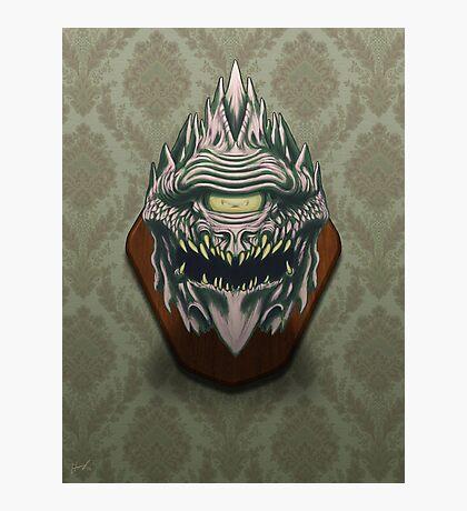 Demon Head Photographic Print