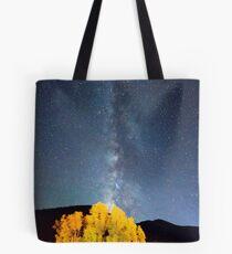 Milky Way October Sky Tote Bag