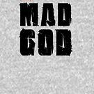 MAD GOD SIGNATURE LOGO IN CLASSIC BLACK by MadGod