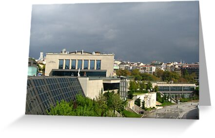 Rainy clouds over Istanbul by Maria1606