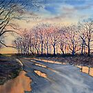 Road Home from Sledmere by Glenn Marshall