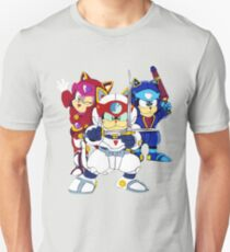 Samurai Pizza Cats - Group Color T-Shirt