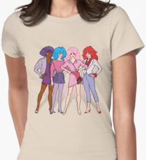 Jem and the Holograms - Group - Color Women's Fitted T-Shirt