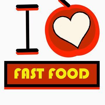 I love fast food by joaopim