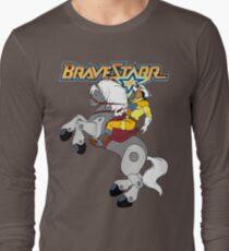 BraveStarr - Thirty Thirty and BraveStarr  - Color Long Sleeve T-Shirt