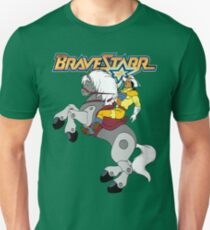 BraveStarr - Thirty Thirty and BraveStarr  - Color T-Shirt