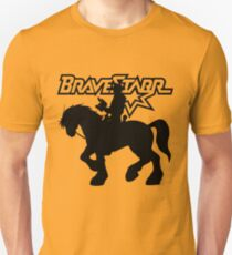 BraveStarr - Thirty Thirty and BraveStarr #2  - Solid Black - Shadow Art Unisex T-Shirt