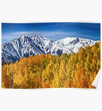 Colorado Rocky Mountain Autumn Magic Poster