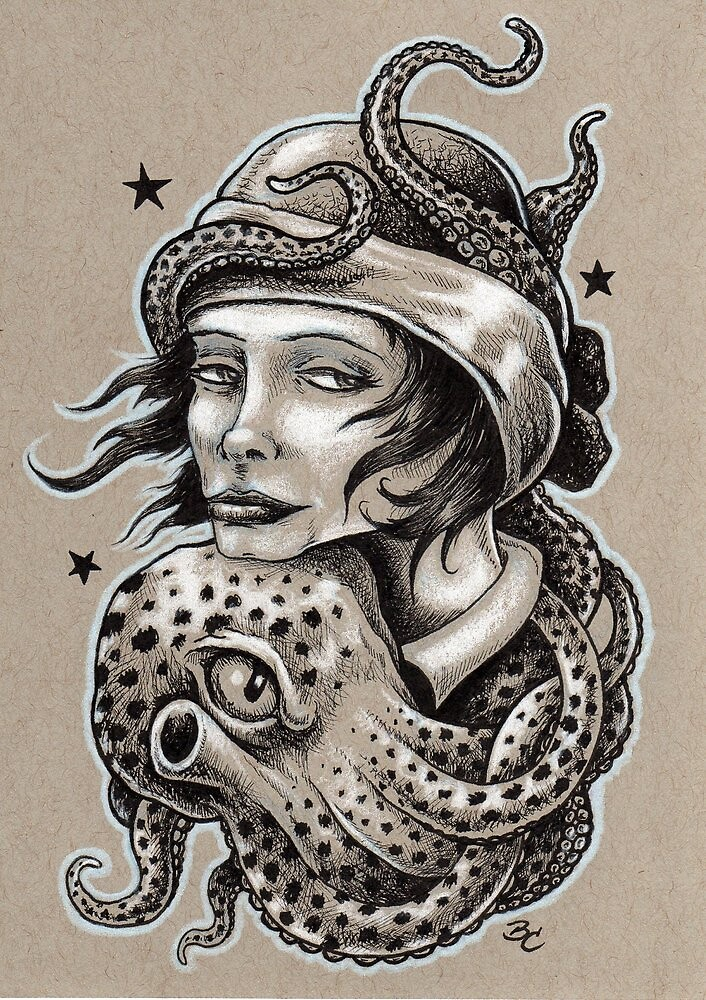 Octopus Hug by Bryan Collins
