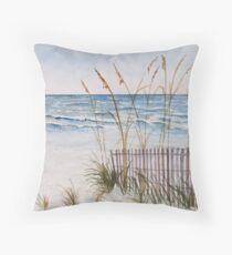 Anna Maria Island Florida Throw Pillow