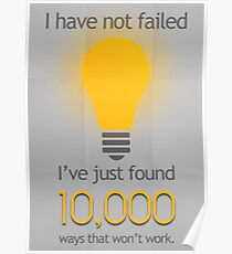 I Have Not Failed Poster