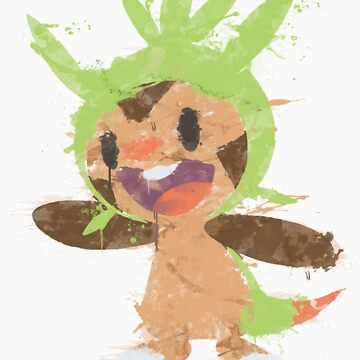 Graffiti Chespin by niterune