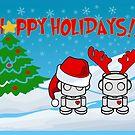 Happy Holidays: O'BOTs by Carbon-Fibre Media
