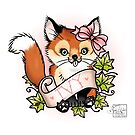Ivy the Cheeky Fox by Miss Cherry  Martini