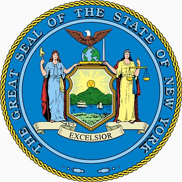 New York | State Seal | SteezeFactory.com by FreshThreadShop